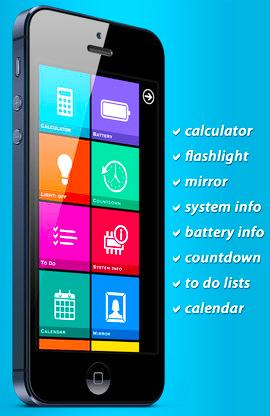 Dashboard Pro | iPhoneをWindows 8風デザインにしちゃおう!!