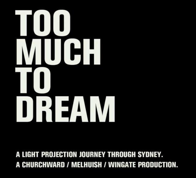 短編フィルム「TOO MUCH TO DREAM」 | シドニーを徘徊する美しいタイピング