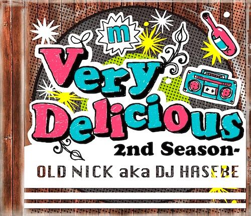 名曲をR&Bカバー! Old Nick「Very Delicious -2nd Season-」 | イケてる名盤