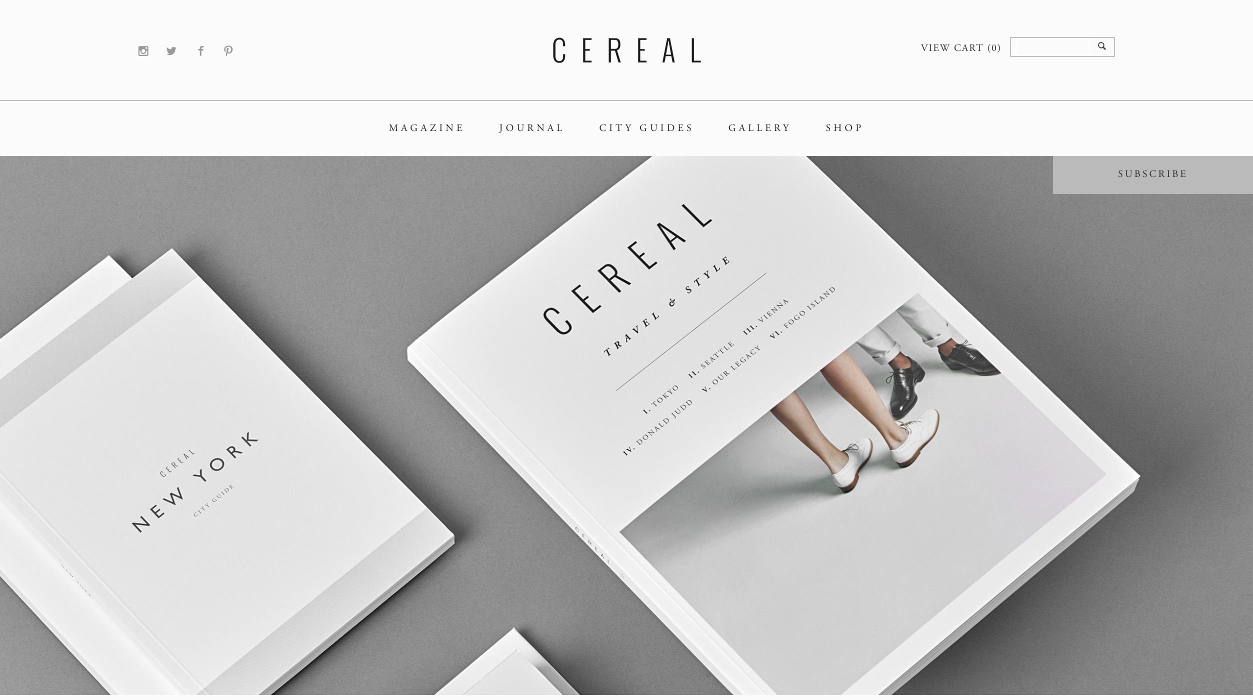 Cereal – Travel   Style Magazine