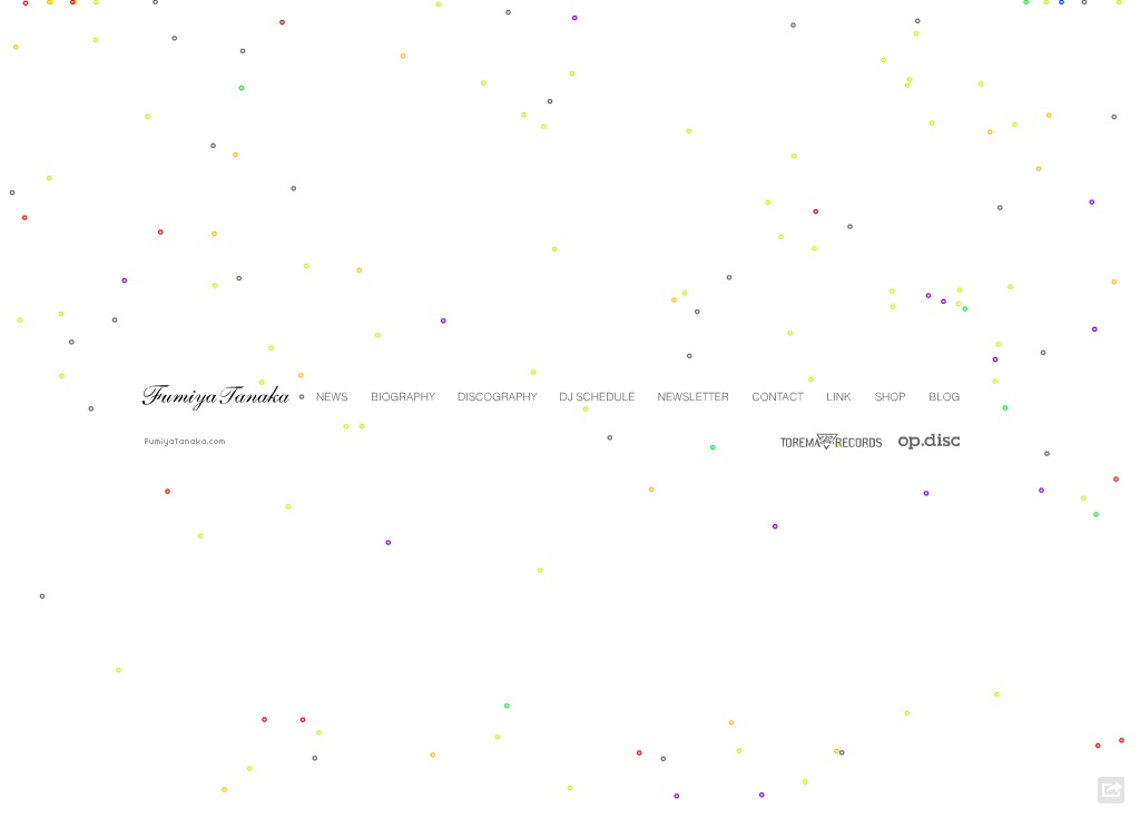 テクノ系ミュージシャンDJのサイト 11選 | WEBサイトデザインまとめ