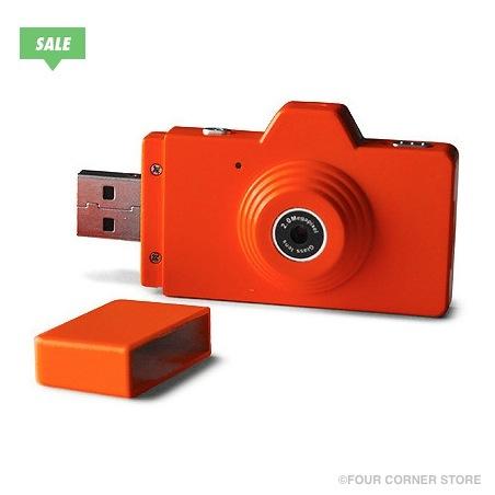 Pick Digicam | USBフラグが一体化したカラフルなトイカメラ