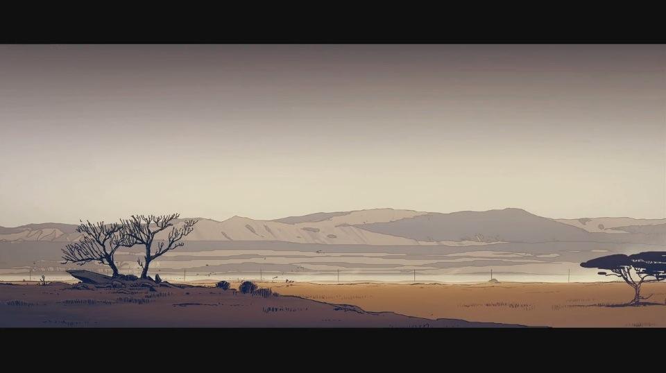 映画「Another Day of Life」   1975年アンゴラ南北戦争を実写とアニメで描いたドキュメント