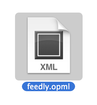 feedly 2013年6月29日OPMLエクスポートが利用可能に