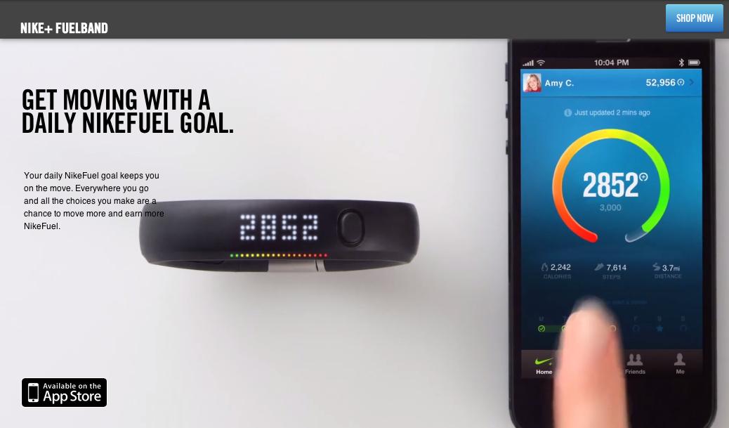Nike+ FuelBand 知られざる凄い機能