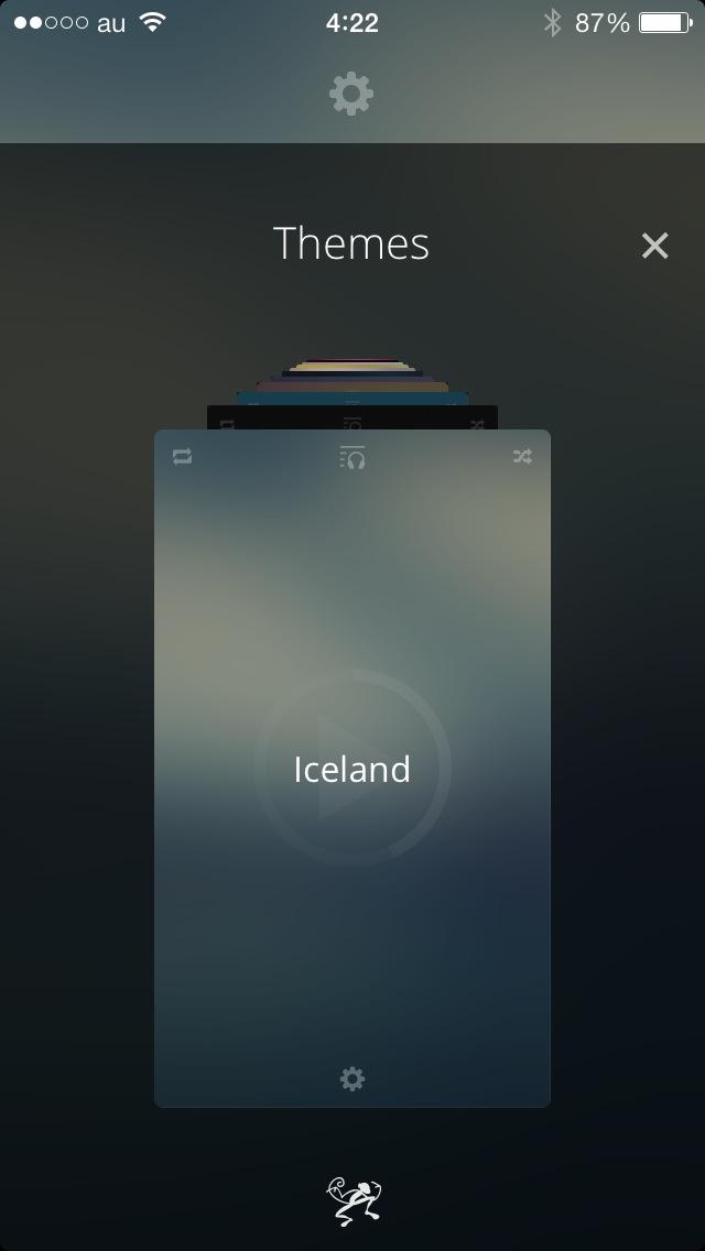 シンプルでおしゃれで美しい音楽再生アプリ『Beat』がいいね