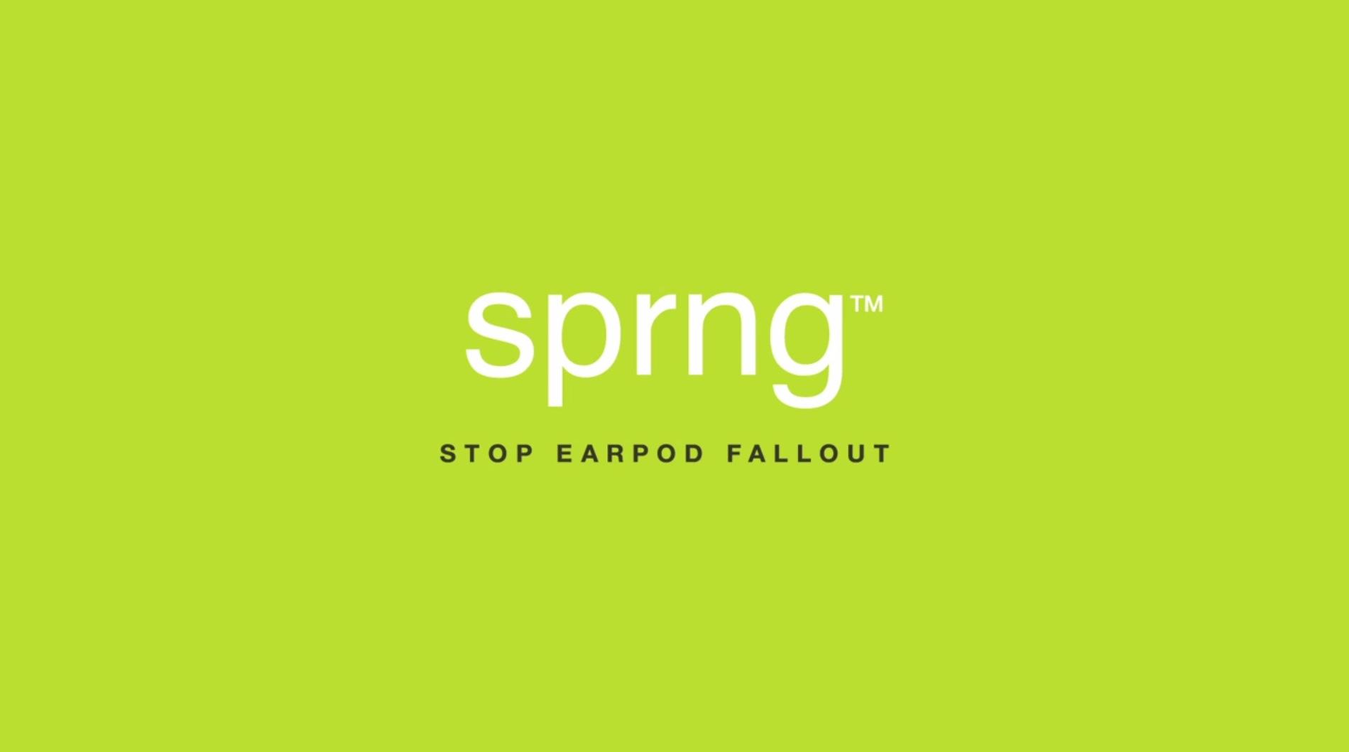 アップル純正イヤホン(Earpods)の耳ズレ防止クリップ「Sprng™」がいいね