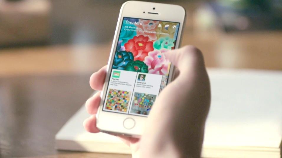 Facebookの新アプリ「Paper」本日2月3日より米国で利用開始