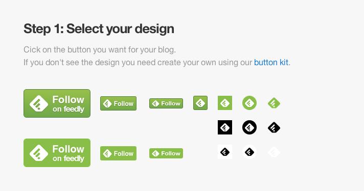 feedlyボタンをブログに設置してみよう!