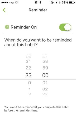 生活習慣改善アプリ「Habit List」がいいね、習慣付けたい行動の目標設定やグラフ分析できて超オススメ!