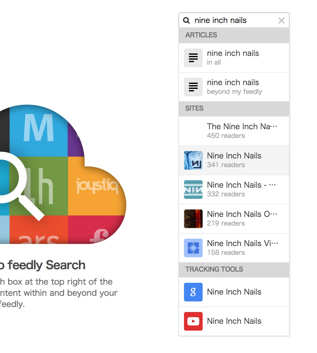 feedly Pro New Search 1