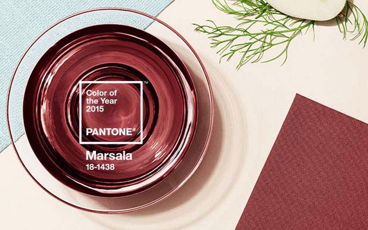 Marsala - PANTONE 2015 Spring Colors