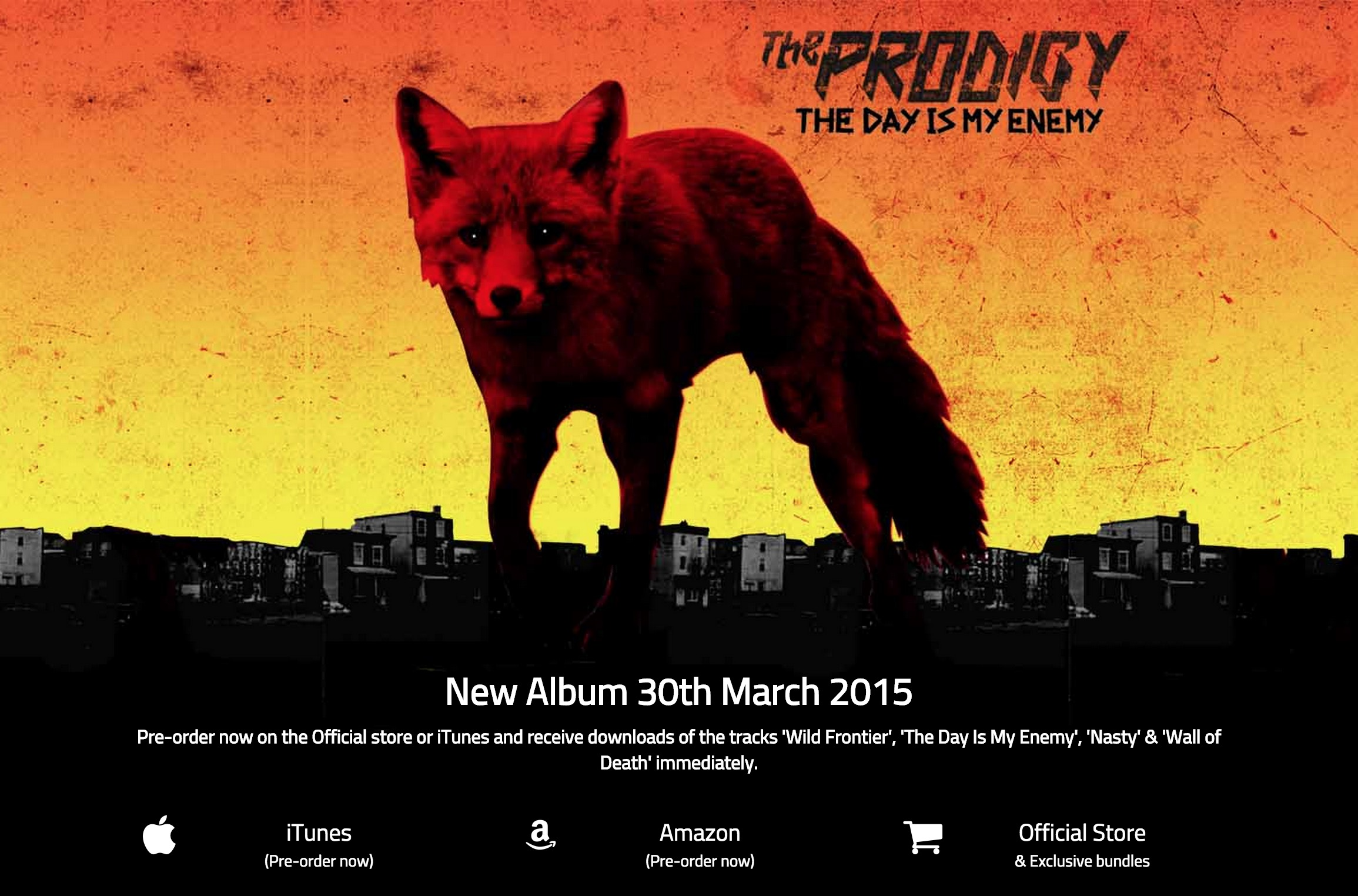 The Prodigy New Album The Day Is My Enemy