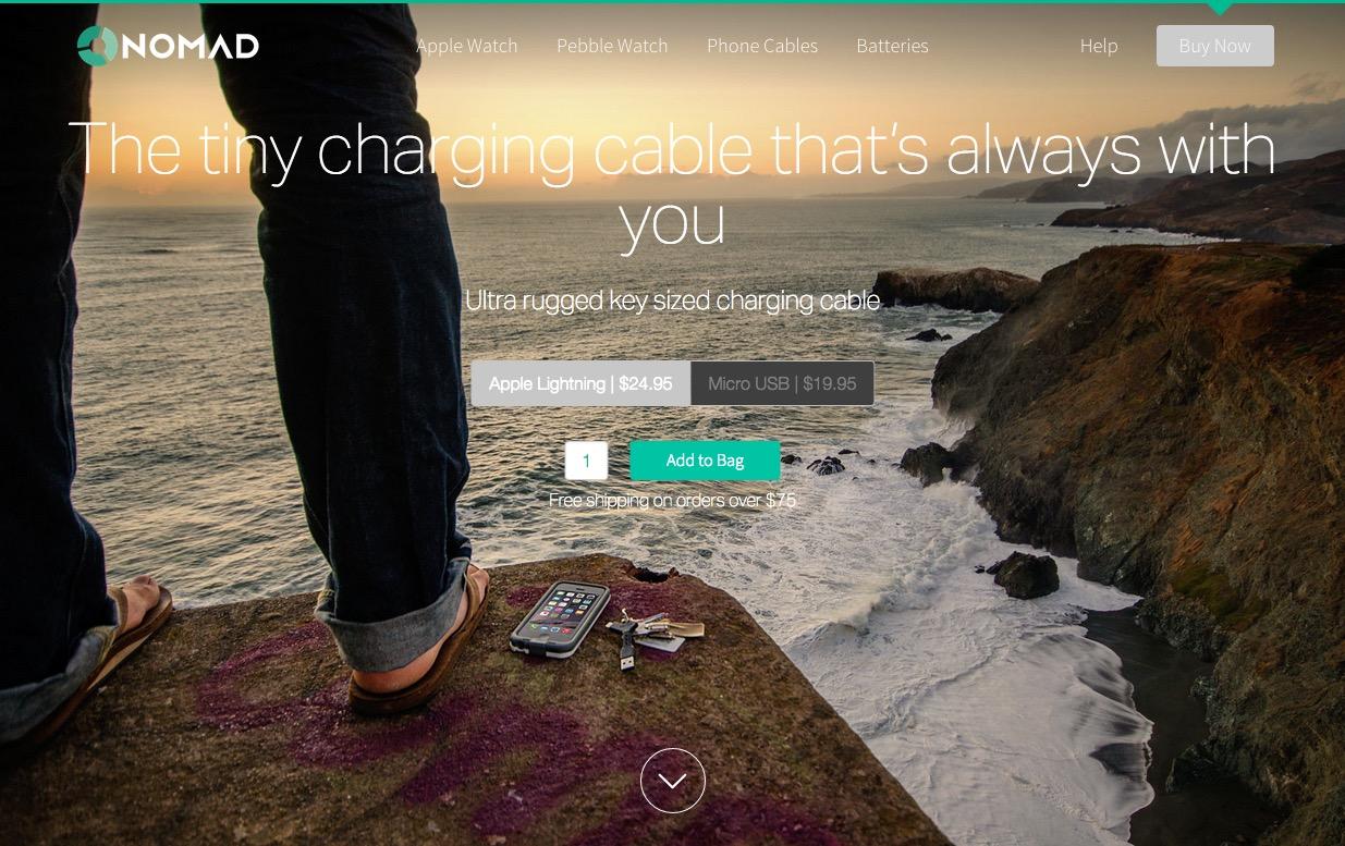 NomadKey Website