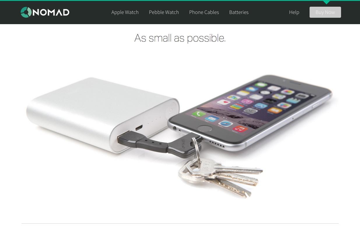 キーホルダーで持ち運べるLightning USBケーブル「ノマドキー」が超便利!