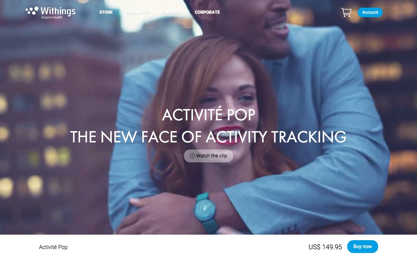 Withings Activité Pop2