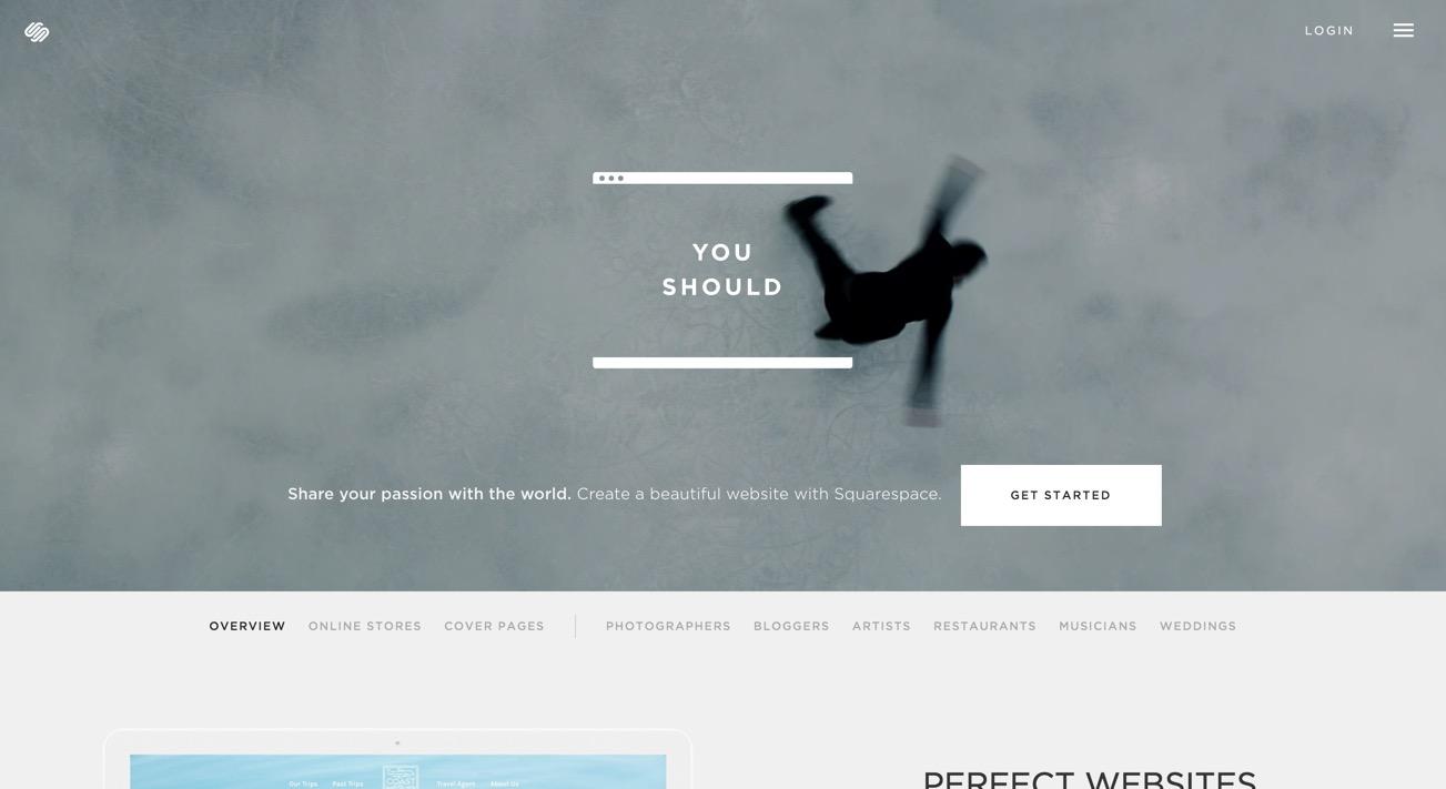 Build a Website   Squarespace