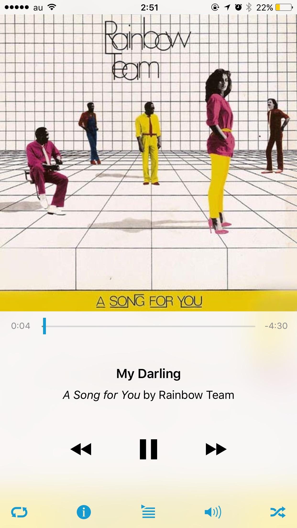 iOS10よりおしゃれな代替ミュージックプレーヤーアプリ Cesium