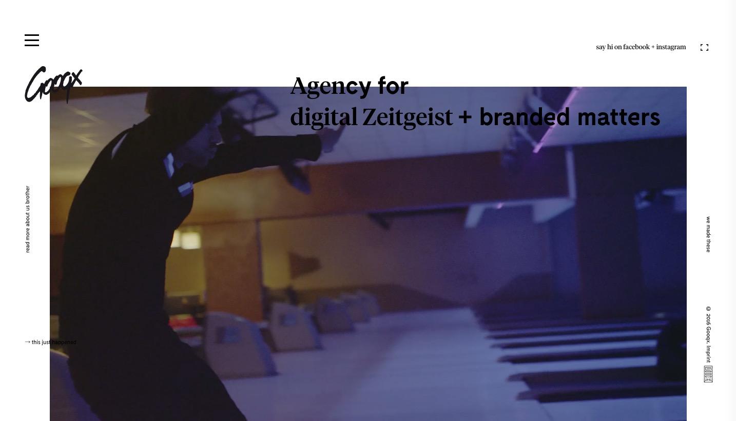 Agency for digital Zeitgeist branded matters