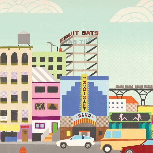 Fruit Bats「The Ruminant Band」 | ピクニックにぴったりな1枚 (2009年)