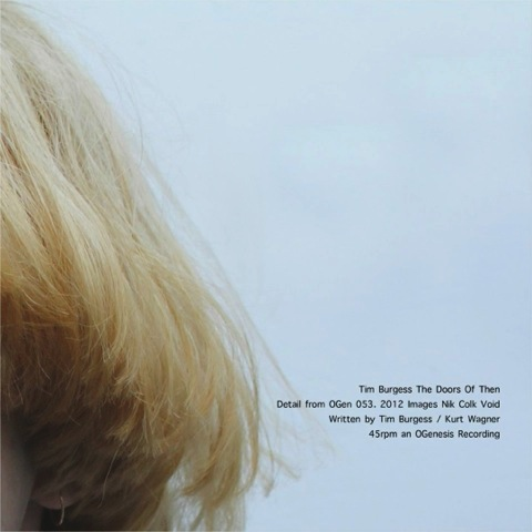 Tim Burgess / The Doors of Then | アートワークがおしゃれなティム・バージェスのシングル (2013年)