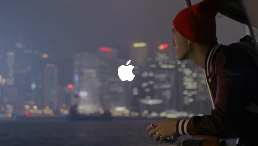 アップル社 iPhoneの新CM「Music Every Day」がめっちゃカッコイイ