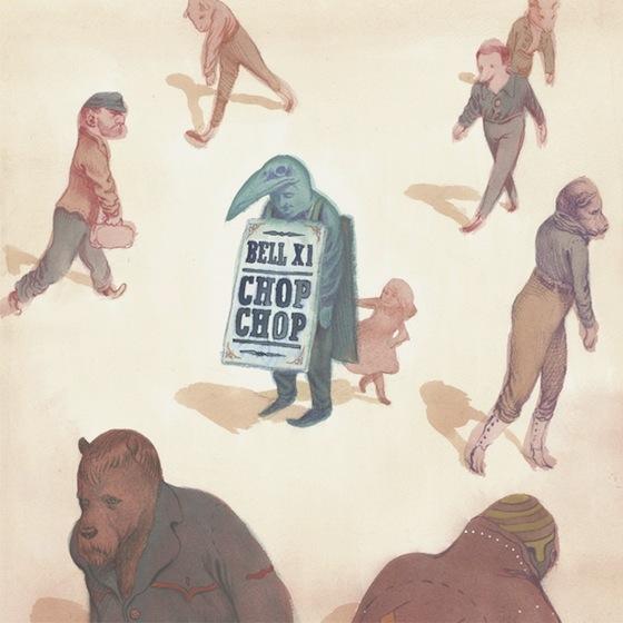Bell X1 新作「Chop Chop」7月2日発売 | アイルランドのダブリン拠点のバンド
