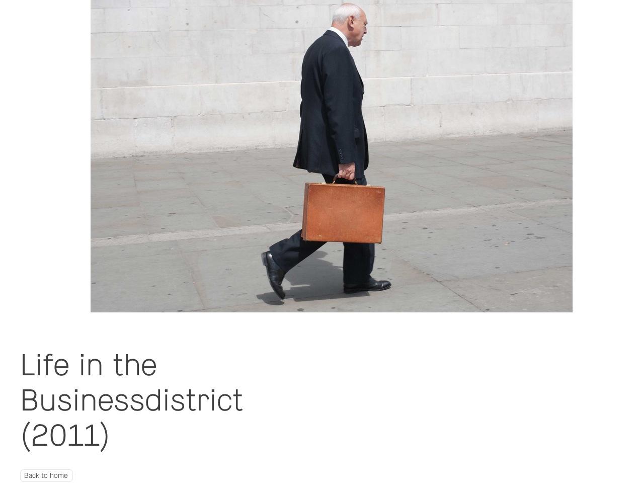Olivier van Breugel. ビジネスマンを被写体にするフォトグラファー