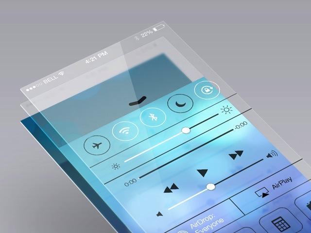 iOS 7風デザインの無料ダウンロードできるAI,PSDフリー素材6選