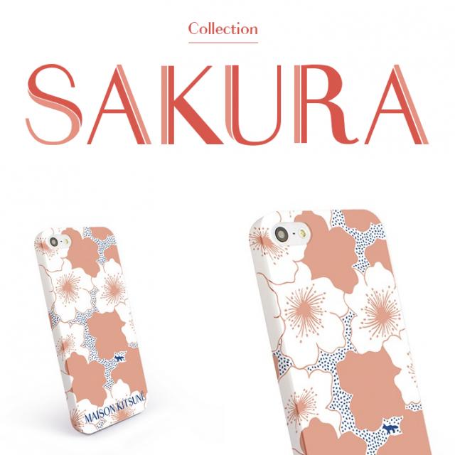 メゾンキツネ (Maison Kitsuné) 桜モチーフの iPhone 5S ケース「SAKURA」発売