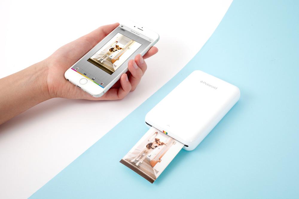 スマホの写真を即ワイヤレス印刷!ポラロイド社携帯プリンタ「Zip」